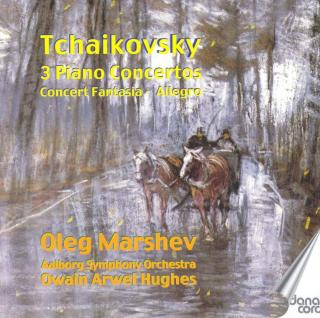 Tchaikovsky, Pjotr: Complete Works for piano and orchestra - Marshev, Oleg - piano