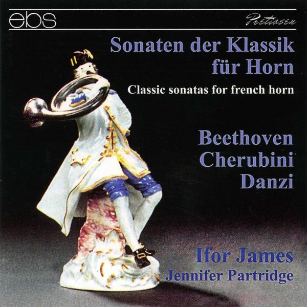 Ifor James – Classic Sonatas for French Horn <span>-</span> James, Ifor – horn | Partridge, Jennifer – piano