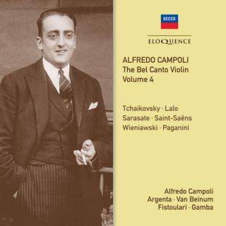 Alfredo Campoli: The Bel Canto Violin Volume 4