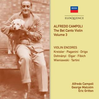 Alfredo Campoli: The Bel Canto Violin Volume 3