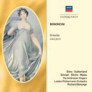 Bononcini, Giovanni Battista: Griselda (highlights) - Bonynge, Richard
