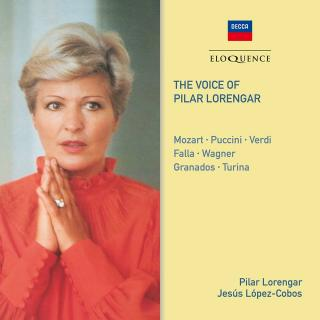 The Voice of Pilar Lorengar - Lorengar, Pilar - soprano