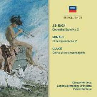 Bach, Gluck & Mozart: Music for flute & orchestra - Monteux, Claude