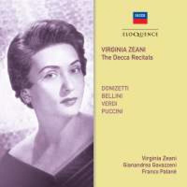 Virginia Zeani: The Decca Recitals <span>-</span> Zeani, Virginia