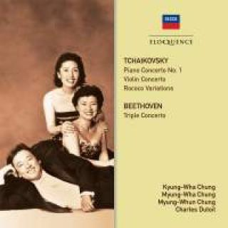 The Chungs play Tchaikovsky & Beethoven - Chung, Kyung-Wha / Chung, Myung-Wha / Chung, Myung-Whun