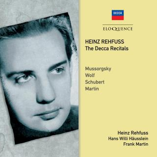 Heinz Rehfuss – The Decca Recitals