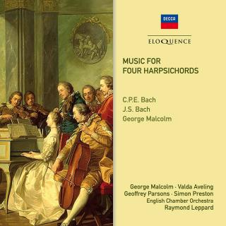 Music for Four Harpsichords - Malcolm, George - harpsichord