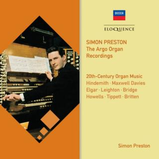 Twentieth-Century Organ Music – The Argo Organ Recordings - Preston, Simon - organ of Colston Hall, Bristol