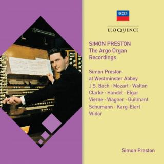 Simon Preston at Westminster Abbey – The Argo Organ Recordings - Preston, Simon - organ of Westminster Abbey