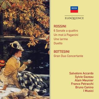 Rossini, Gioacchino: Strykesonater; Bottesini, Giovanni: Gran Duo Concertante - Accardo, Salvatore