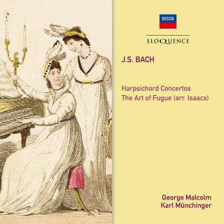 Bach, Johann Sebastian: The Art of Fugue; Harpsichord Concertos Nos. 1 & 2 - Malcolm, George (harpsichord)