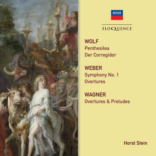 Wolf, Weber, Wagner: Orchestral Works - Stein, Horst - conductor
