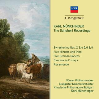 Karl Münchinger – The Schubert Recordings - Münchinger, Karl – conductor