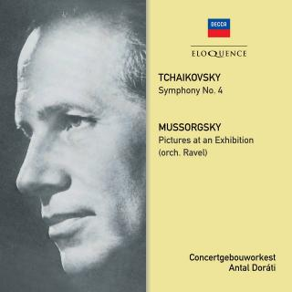 Tchaikovsky: Symphony No. 4; Mussorgsky: Pictures at an Exhibition - Doráti, Antal