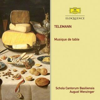 Telemann, Georg Philipp: Musique de Table - Banquet Music in Three Parts - Wenzinger, August - conductor