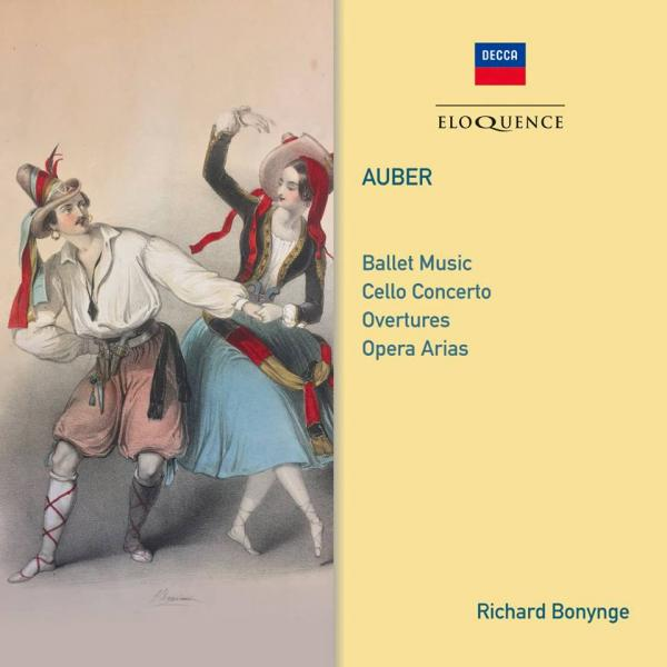 Auber, Daniel-Francois-Esprit: Arias and Orchestral Music <span>-</span> Bonynge, Richard