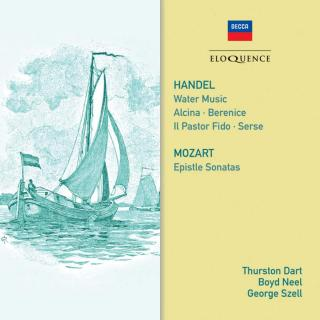 Handel, George Frideric: Water Music / etc & Mozart, Wolfgang Amadeus: Epistle Sonatas - Philomusica of London / LSO