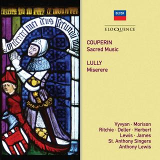 Couperin, Francois: Sacred Music / Lully, Jean-Baptiste: Miserere - Lewis, Anthony