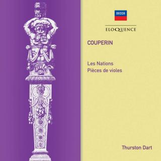 Couperin, Francois; Les Nations & Pieces de Violes - Dart, Thurston