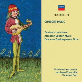 Consort Music - Philomusica of London / Jacobean Ensemble / Dart, Thurston