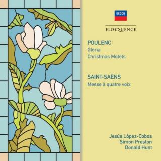 Poulenc: Gloria; Christmas Motets – Saint-Saens: Mass Op. 4