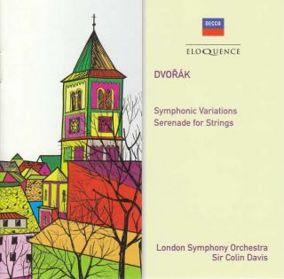 Dvorak, Antonin: Symphonic Variations; Serenade for Strings - London Symphony Orchestra / Davis, Sir Colin
