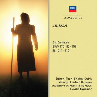 Bach, Johann Sebastian: Six Cantatas - Marriner, Neville / Academy of St. Martin-in-the-Fields