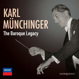 Karl Munchinger - The Baroque Legacy - Munchinger, Karl