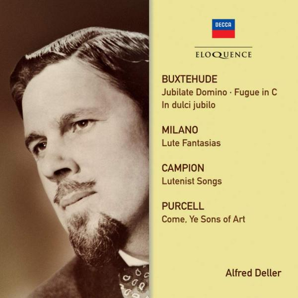 Alfred Deller - Campion / Purcell / Buxtehude <span>-</span> Deller, Alfred (countertenor)