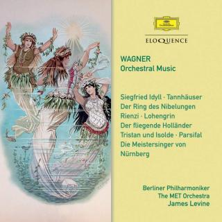 Wagner, Richard: Orchestral Music - Levine, James