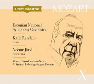 Mozart, Wolfgang Amadeus: Piano Concerto No. 22 / Strauss, Richard: Le bourgeois gentilhomme - Järvi, Neeme