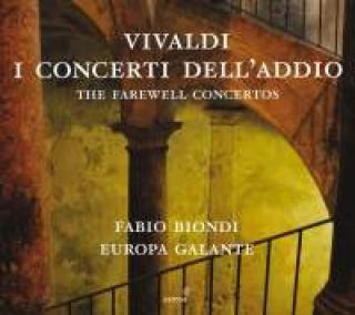 Vivaldi, Antonio: I concerti dell'addio - The farewell concertos - Biondi, Fabio