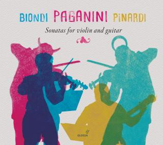 Paganini, Niccolo: Sonatas for violin and guitar - Biondi, Fabio – violin | Pinardi, Giangiacomo - guitar
