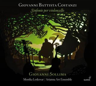 Costanzi, Giovanni Battista: Sinfonie per violoncello - Sollima, Giovanni – cello