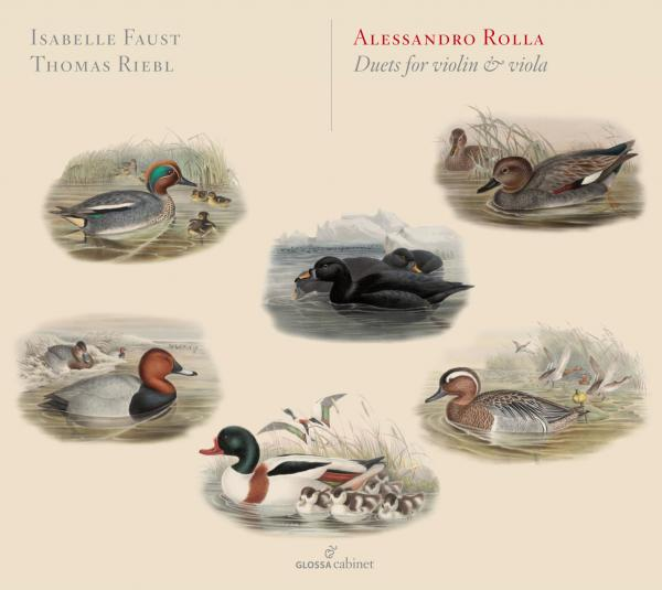 Rolla, Alessandro: Duets for Violin and Viola <span>-</span> Faust, Isabelle / Riebl, Thomas