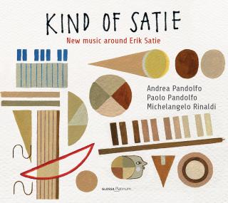 Kind of Satie: New music around Eric Satie - Pandolfo, Paolo – violas da gamba & voice