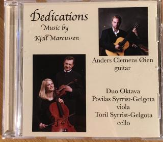 Dedications – Music by Kjell Marcussen - Øien, Anders Clemens (gitar) / Duo Oktava