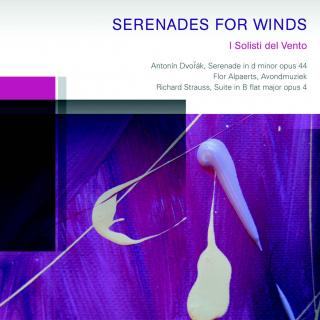 SERENADES FOR WINDS - Dvorak, Strauss & Alphaerts - I Solisti del Vento