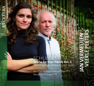 Schubert, Franz: Works for Four Hands Vol. 5 - Vermeulen, Jan & Peeter, Veerle - piano