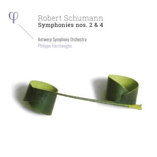 Schumann: Symphonies Nos. 2 & 4 - Antwerp Symphony Orchestra, Herreweghe, Philippe