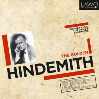 The Golden Hindemith - Chamber Music For Viola And Saxophone - Landaas, Henninge (bratsj) / Landaas, Vegard (saksonon)