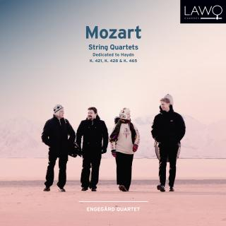 Mozart String Quartets: Dedicated to Haydn; K. 421, K. 428 & K. 465 - Engegårdkvartetten