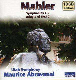 Mahler, Gustav: Complete Symphonies; Adagio (from the 10th) - Utah Symphony Orchestra | Abravanel Maurice