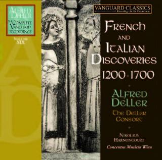 Vanguard Alfred Deller Edition: French & Italian Discoveries - The Complete Vanguard Recordings Volume 6 - Deller, Alfred - countertenor