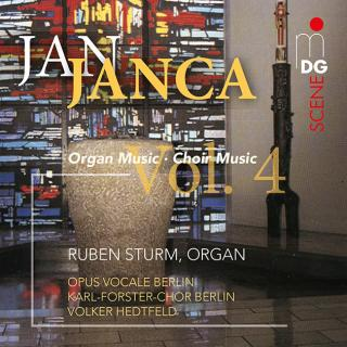 Janca, Jan; Organ and Choir Music Vol. 4 - Sturm, Ruben
