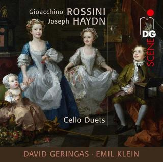 Rossini & Haydn: Celloduets - Geringas, David / Klein, Emil