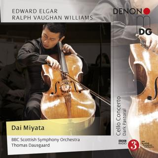 Elgar: Cello Concerto / Vaughan Williams: Dark Pastoral - Miyata, Dai / BBC Scottish SO / Dausgaard, Thomas