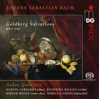 "Bach, Johann Sebastian: Goldberg Variations BWV 988 ""Aria mit verschiedenen Veraenderungen"" - (after the adaption by Josef Rheinberger, 1883) - Aulos Quartett"