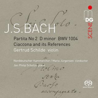 Bach, Johann Sebastian: Partita No. 2 in d minor BWV1004 - Ciaccona and its choral references - Schilde, Gertrud - violin