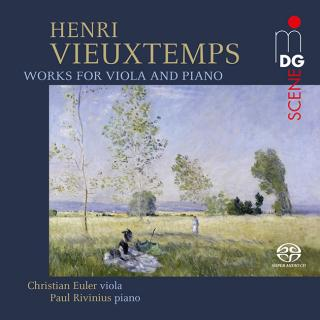 Vieuxtemps, Henri: Works for Viola and Piano - Euler, Christian – viola | Rivinius, Paul - piano